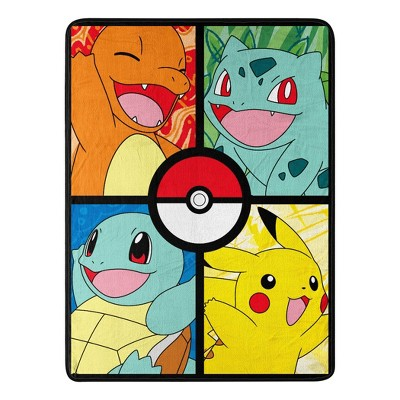 "Pokemon 46""x60"" Micro Throw Blanket"