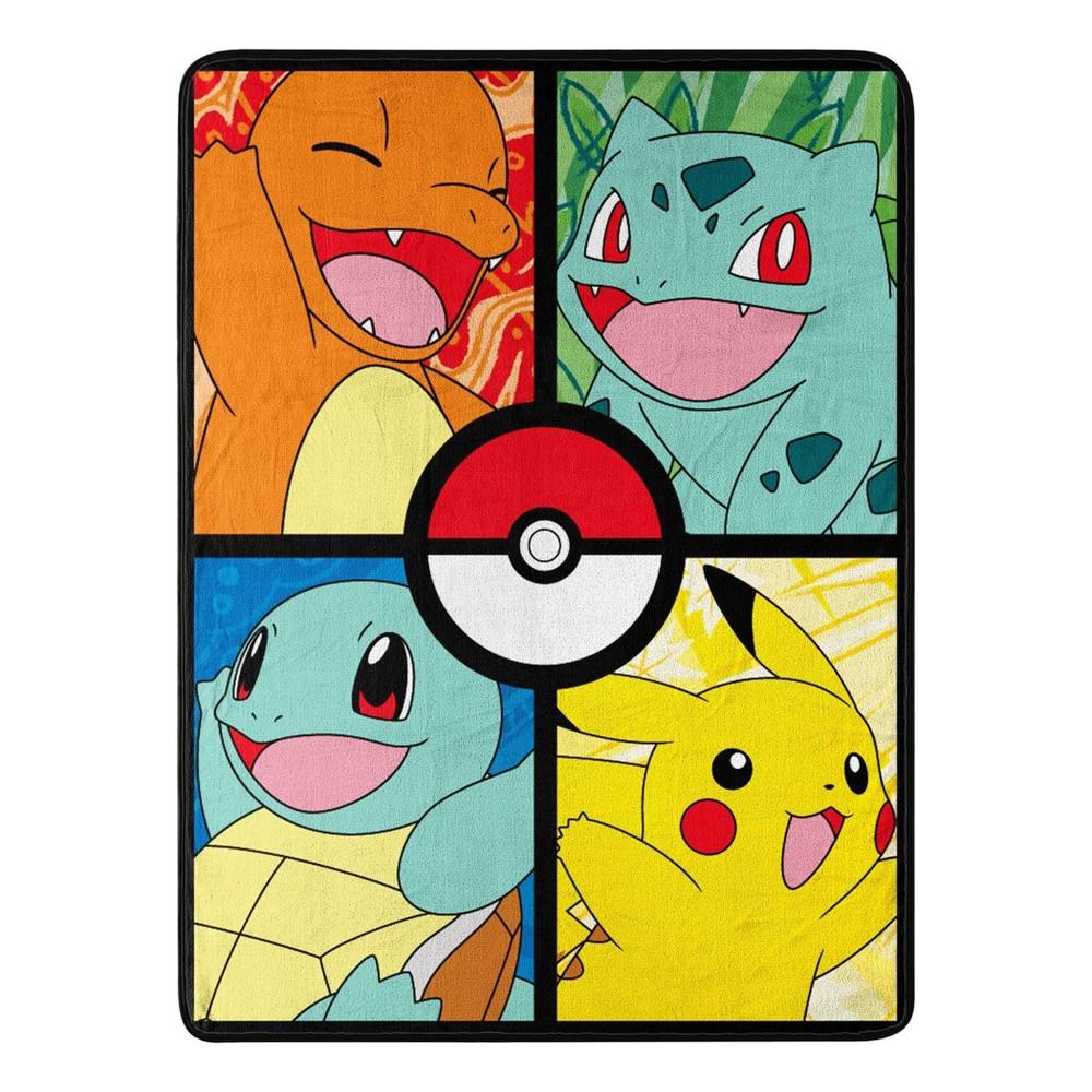 "Image of ""Pokemon 46""""x60"""" Micro Throw Blanket"""