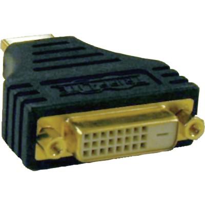 Tripp Lite HDMI to DVI Cable Adapter Converter Compact HDMI to DVI-D M/F - 1 x DVI-D Female Digital Video - 1 x HDMI Male Digital Audio/Video