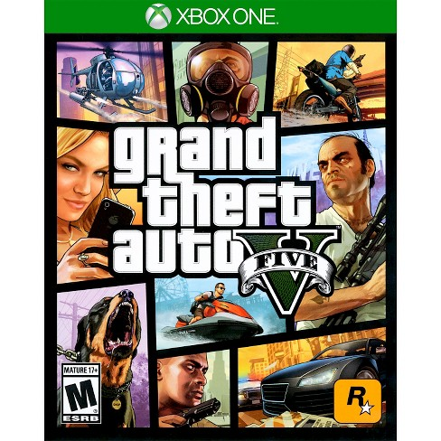 Grand Theft Auto V PRE-OWNED Xbox One - image 1 of 1