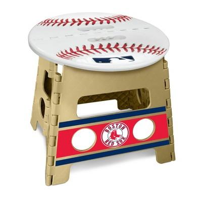 "MLB Boston Red Sox 13"" Folding Step Stool"