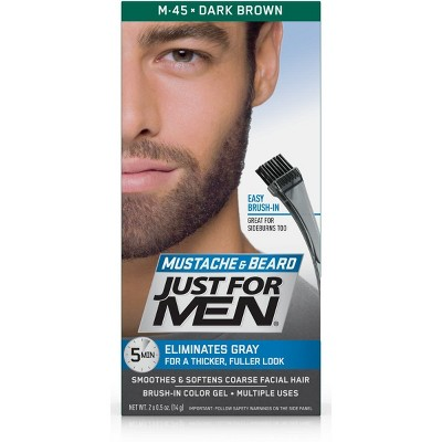 Just For Men Mustache and Beard Men\'s Hair Color