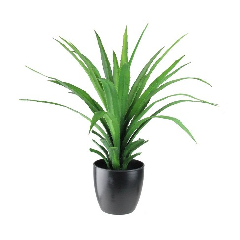 Northlight 27 Tropical Agave Artificial Potted Plant Green Black Target