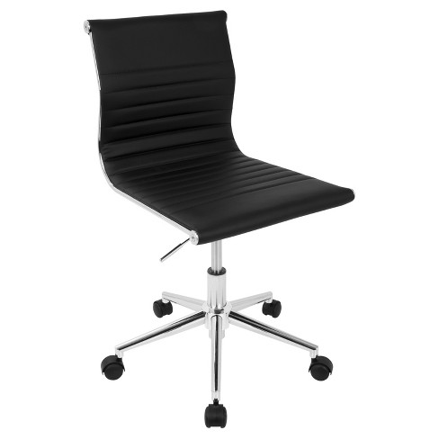Master Contemporary Armless Adjustable Task Chair - Lumisource - image 1 of 8