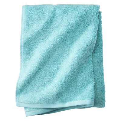 Fast Dry Bath Towel Sunbleached Turquoise - Room Essentials™