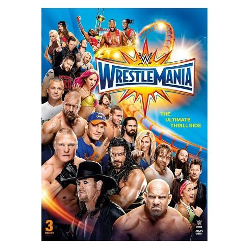 WWE: Wrestlemania 33 (DVD) - image 1 of 1