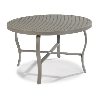 Daytona 48  Round Outdoor Dining Table - Dark Gray - Home Styles