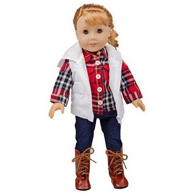 Dress Along Dolly Fall Outfit for American Girl Doll