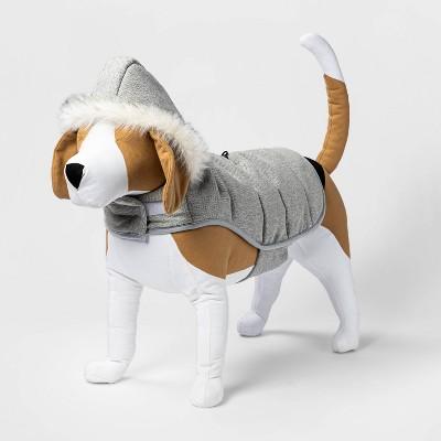 Leg Hole Snaps Dog Puffer - Gray Tweed - Boots & Barkley™