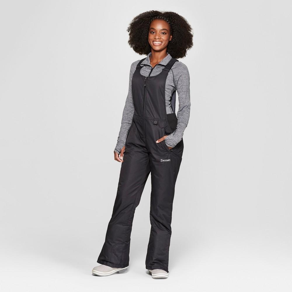 Women's Bib Overall Snow Pants - Zermatt Black S