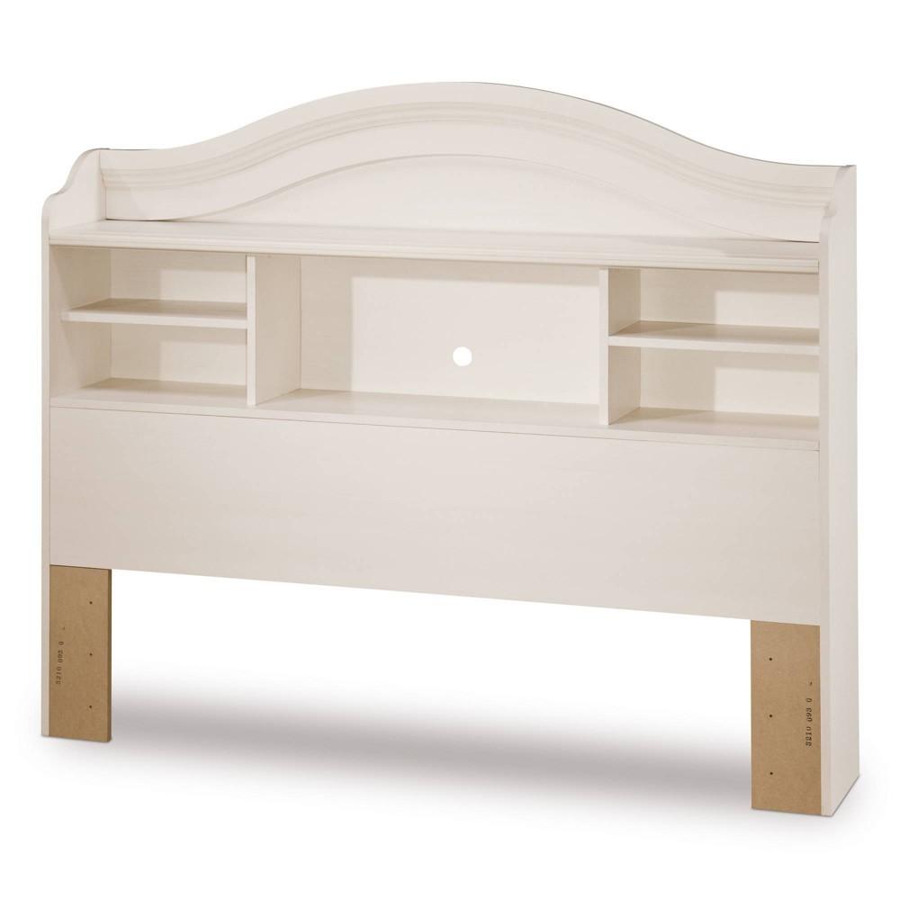 Image of Bookcase Kids Headboard Vanilla (Full) - South Shore