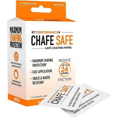 KT Tape Performance+ Chafe Safe Anti-Chafing Wipes