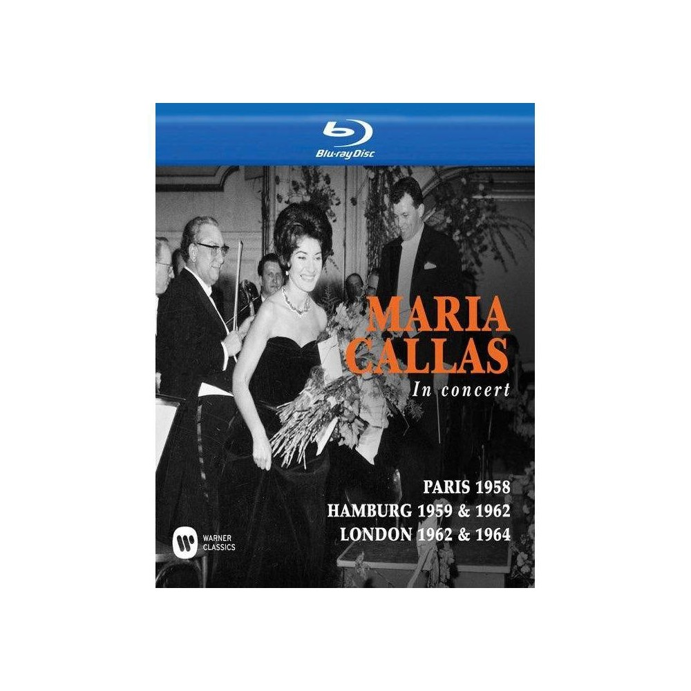 Maria Callas In Concert Toujours Collection Blu Ray 2017