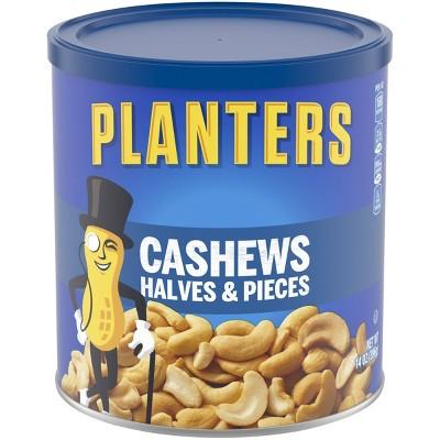Planters Halves And Pieces Cashews - 14oz