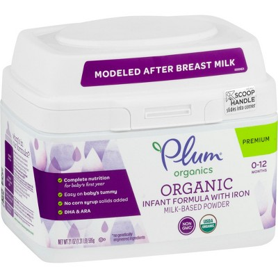 Plum Organics Infant Formula - 21oz