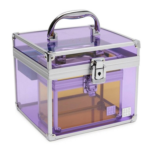 Caboodles Prima Donna Acrylic Case - Purple - image 1 of 4
