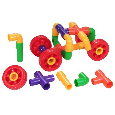 Joyn Toys Tubes and Wheels Construction Building Set