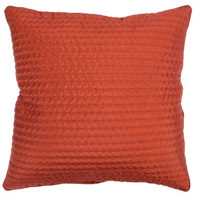 "22""x22"" Solid Polyester Filled Pillow - Rizzy Home"