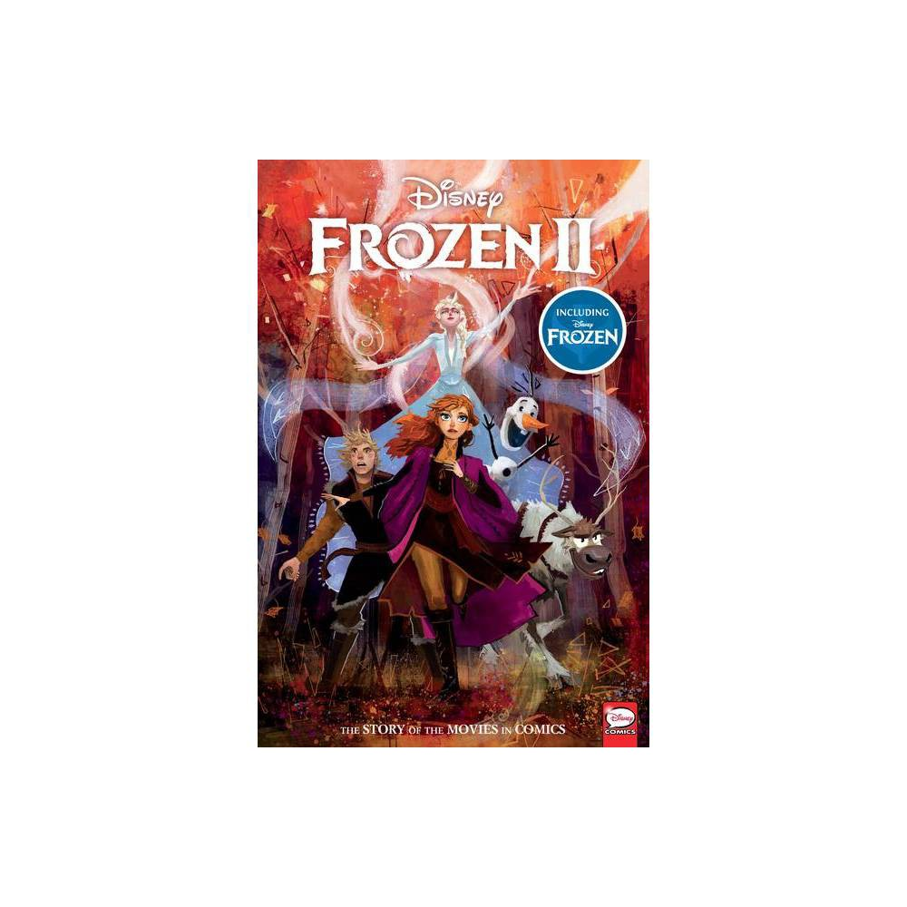 ISBN 9781506717388 product image for Disney Frozen and Frozen 2: The Story of the Movies in Comics - by Alessandro Fe   upcitemdb.com