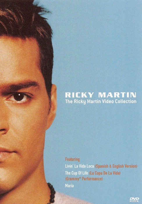 Ricky martin video collection (DVD) - image 1 of 1