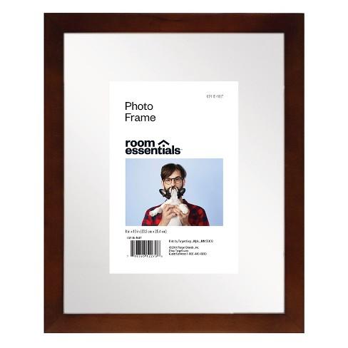 Float Frame Espresso 8x10 Glass For 4x6 Photo Room