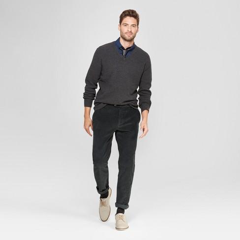 e4e7ea4de7 Men s Standard Fit V-Neck Sweater - Goodfellow   Co™ Medium Heather Gray    Target