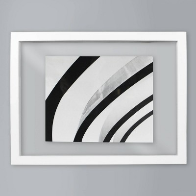 8  x 10  Float Frame White - Made By Design™