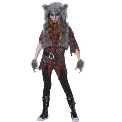 California Costumes Werewolf Girl Child Costume