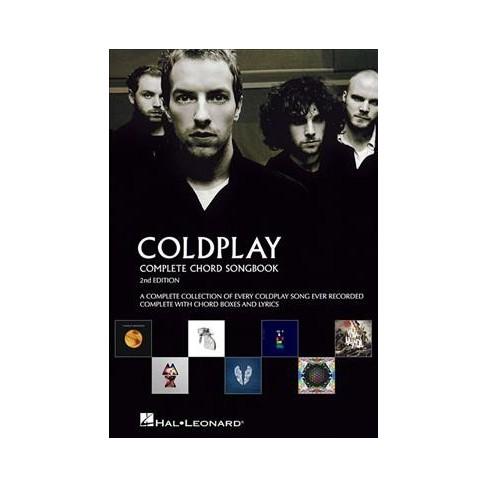 Coldplay Complete Chord Songbook Paperback Target