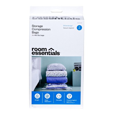 2 Compression Bags Jumbo Clear - Room Essentials™