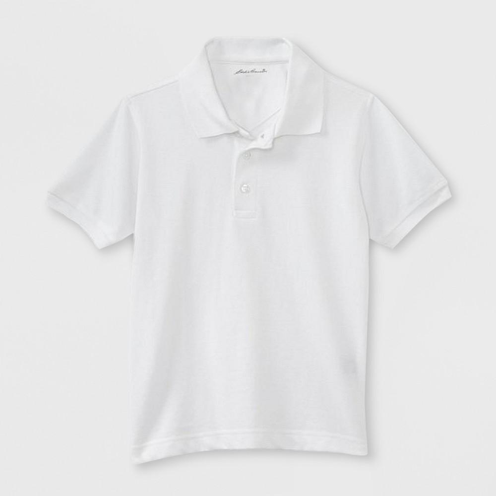 Eddie Bauer Boys' Uniform Polo Shirt - White 4