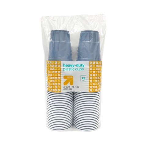 Blue Disposable Plastic Cups - 72ct - Up&Up™ - image 1 of 4