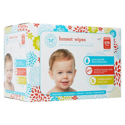 d5ce807f7ab Honest Company Baby Wipes - 576 Ct : Target