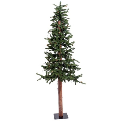 5ft Unlit Artificial Christmas Tree Slim Alpine - image 1 of 2