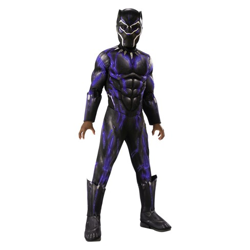 Kids Marvel Black Panther Deluxe Muscle Halloween Costume Target