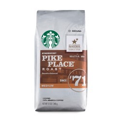 Starbucks Pike Place Roast Medium Roast Ground Coffee - 12oz
