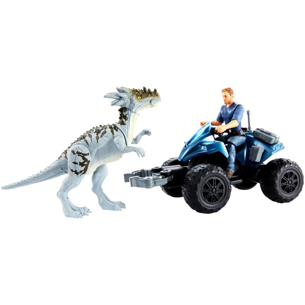 Jurassic World Deluxe Story Pack Off-Road Tracker Atv