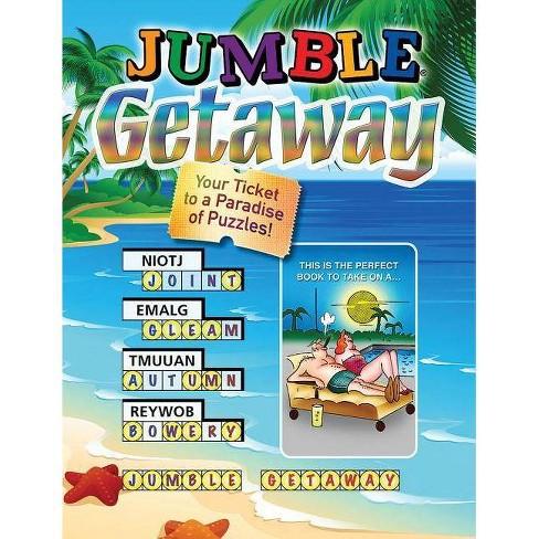 Jumble(r) Getaway - (Jumbles(r)) by  Tribune Media Services (Paperback) - image 1 of 1