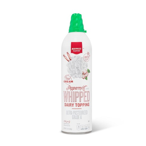 Peppermint Light Whipped Cream - 13oz - Market Pantry™ - image 1 of 1