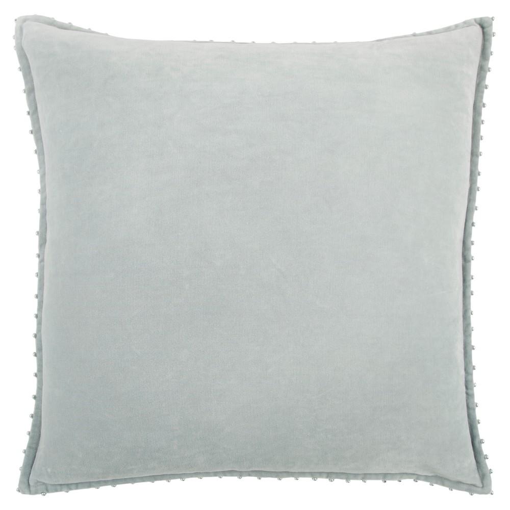 Throw Pillow Rizzy Home Light Gray