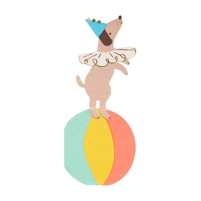 Meri Meri Circus Dog Napkins