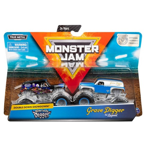 Monster Jam 1:64 SonuvaDigger vs GravDigger Legend - 2pk - image 1 of 4