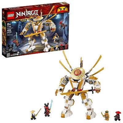 Lego Ninjago Legacy Golden Mech Building Kit 71702 Target