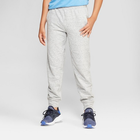 01a82b8f Boys' Soft Touch Jogger Pants - C9 Champion® Light Gray Heather M : Target
