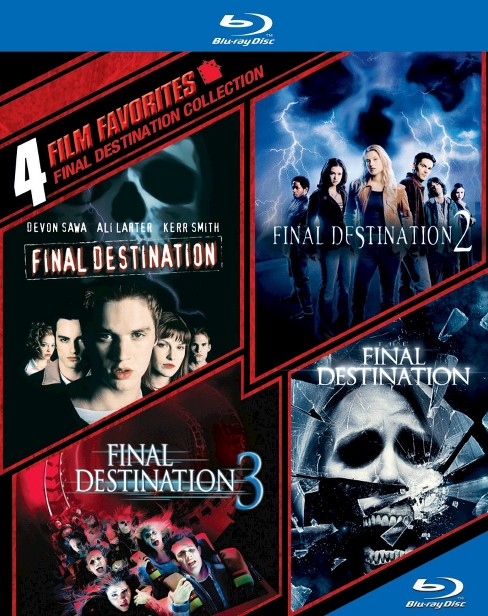 Final Destination Collection: 4 Film Favorites [4 Discs] [Blu-ray] - image 1 of 1