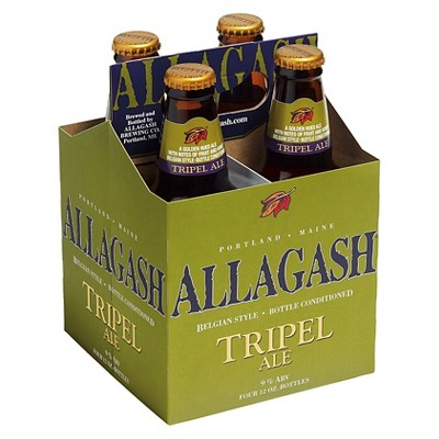 Allagash Belgian-Style Tripel Beer - 4pk/12 fl oz Bottles
