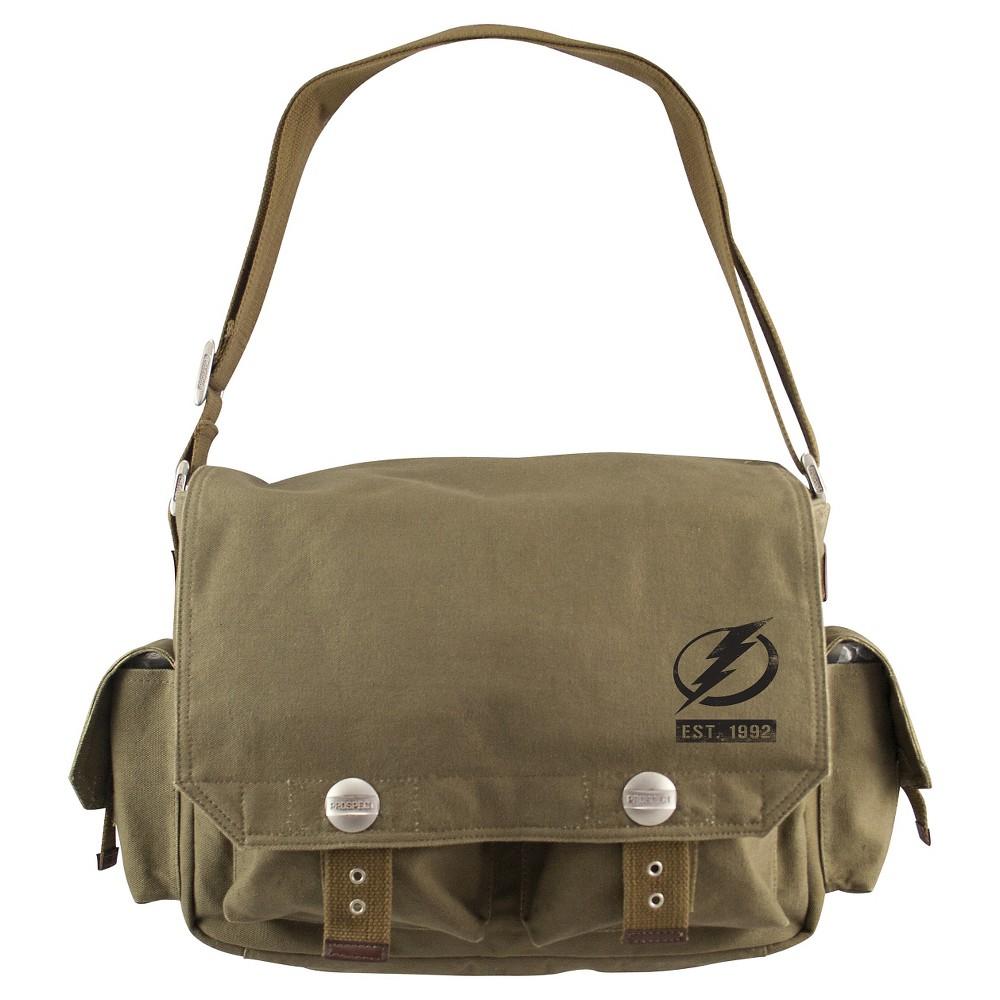 Tampa Bay Lightning Little Earth Prospect Messenger Bag, Olive Drab