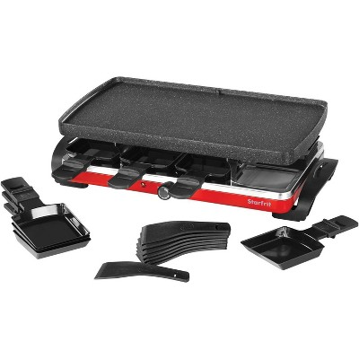 The Rock by Starfrit Raclette and Party Grill Set - Black