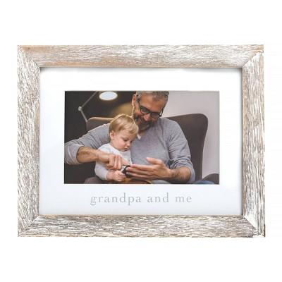 "Pearhead Grandpa & Me Picture 4"" x 6"" Frame"