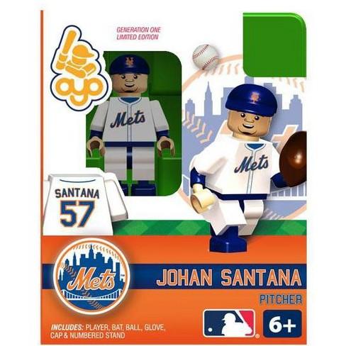 New York Mets MLB Generation One Johan Santana Minifigure - image 1 of 4